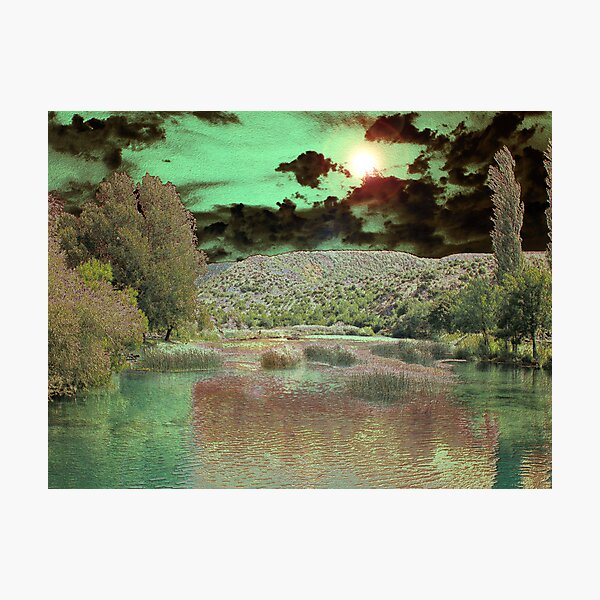 PEACEFUL FANTASY Photographic Print