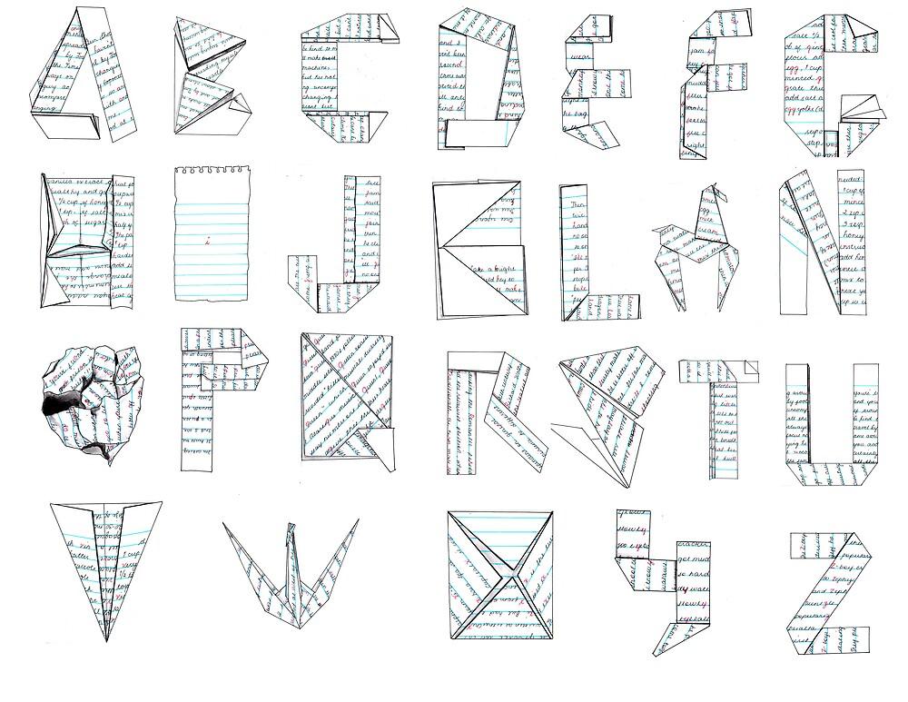 paper fold  by sourcherry