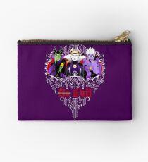 Three Wise Villains (Purple) Studio Pouch