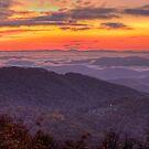 Blue Ridge Sunrise by Jane Best