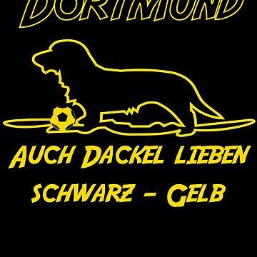 Dortmund, Dachshund, love by Daniel0603