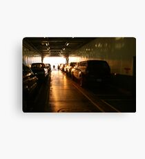 The Golden Transport Canvas Print