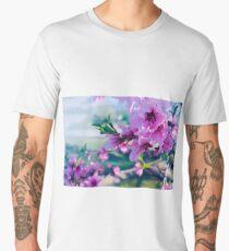 Peach Blossoms  Men's Premium T-Shirt