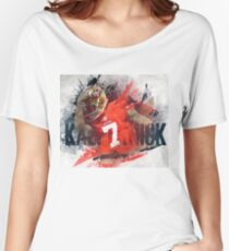 Art Colin Kaepernick Women's Relaxed Fit T-Shirt