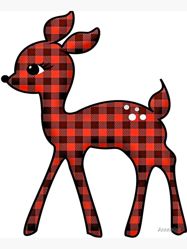 Cute christmas reindeer clipart - WikiClipArt