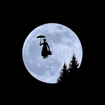 Mary Poppins ET Moon Scene Parody by thevoice123