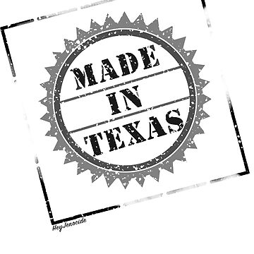 Made in Texas - stamp  by HeyJenocide21