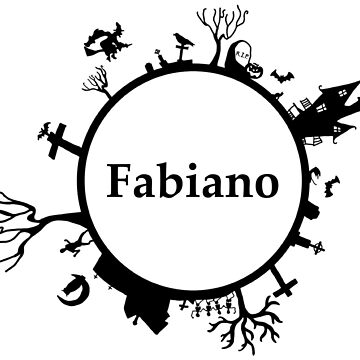 Halloween name Fabiano by PM-Names