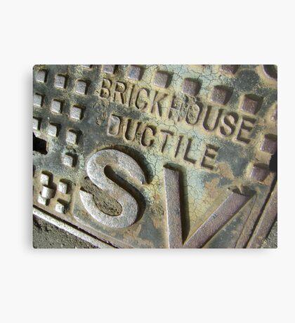 Brickhouse Ductile Metal Print