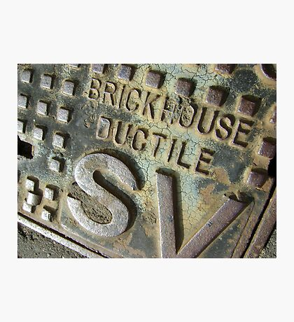 Brickhouse Ductile Photographic Print