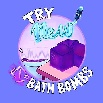 Cube Bath Bomb - Fortnite Inspired - by Sam Buse by pizzakeicute