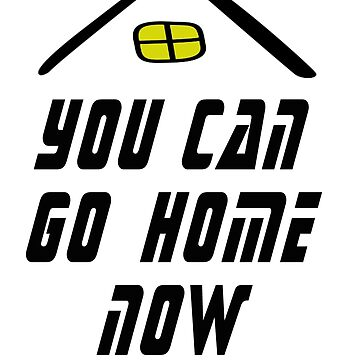 you can go home now fitness workout sweat activated gym TEE by mirabhd