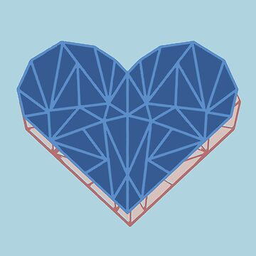 Blue heart by FelixQ66