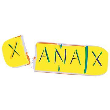 XANAX by 2piu2design