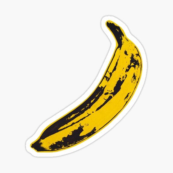 Banane Vintage Rock & Roll Sticker