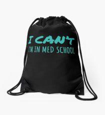 Med School Gift Premed Doctor Life Student Dr Medical School Residency  Drawstring Bag