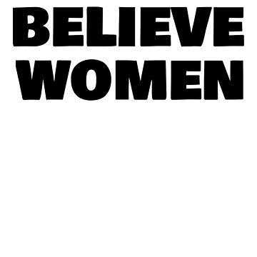Believe Women Shirt  by lepus74