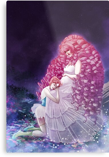 Steven Universe — Rose Quartz & Pearl by Lurockia