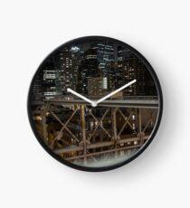 Jungle of Steel Clock