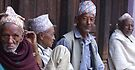 HANGING OUT IN BHAKTAPUR by Betsy  Seeton