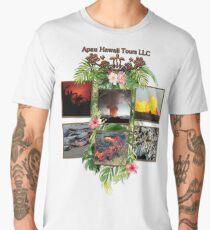 Apau Hawaii Tours - Lava Day Cycle Huddle Men's Premium T-Shirt