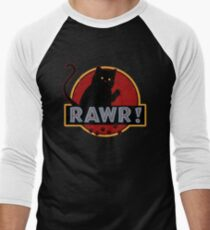 Rawr! Men's Baseball ¾ T-Shirt