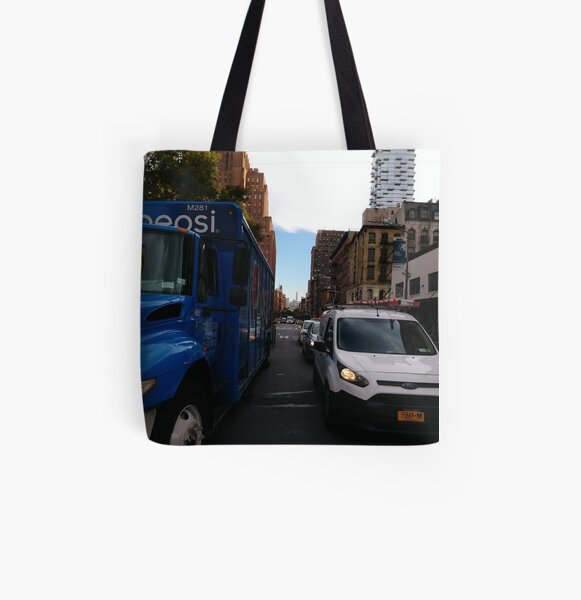 New York City, #New #York #City, #NewYorkCity, #NewYork, #НьюЙорк All Over Print Tote Bag
