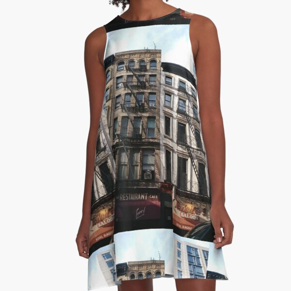 New York City, #New #York #City, #NewYorkCity, #NewYork, #НьюЙорк A-Line Dress