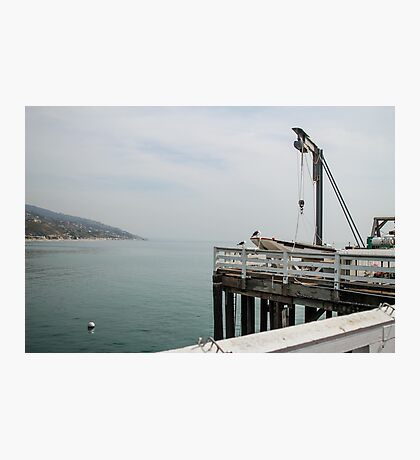 Malibu Pier Photographic Print