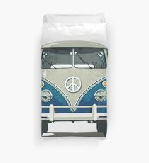 COMBI PEACE AND LOVE BLUE Duvet Cover