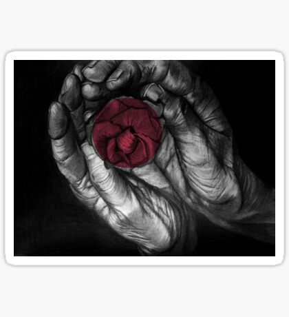 Hands of Life Sticker