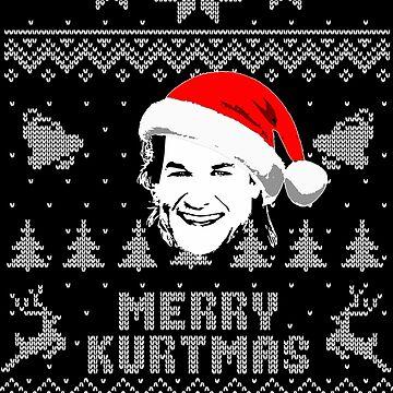 Merry Kurtmas Parody Christmas Shirt by idaspark