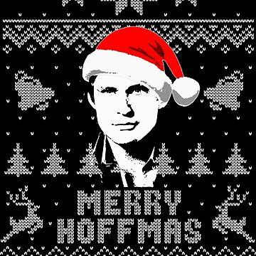 Merry Hoffmas Parody Christmas Shirt by idaspark