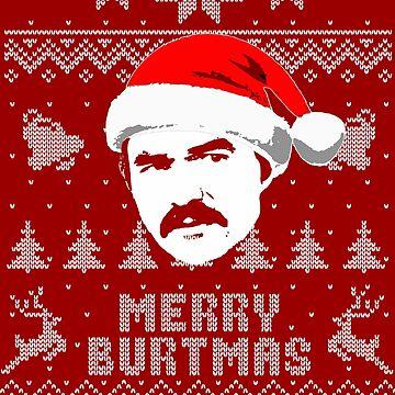 Merry Burtmas Parody Christmas Shirt by idaspark