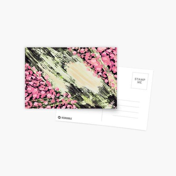 CROOKED PINK TREE Postcard