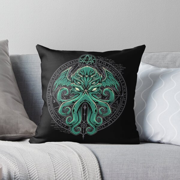 Great Cthulhu Throw Pillow