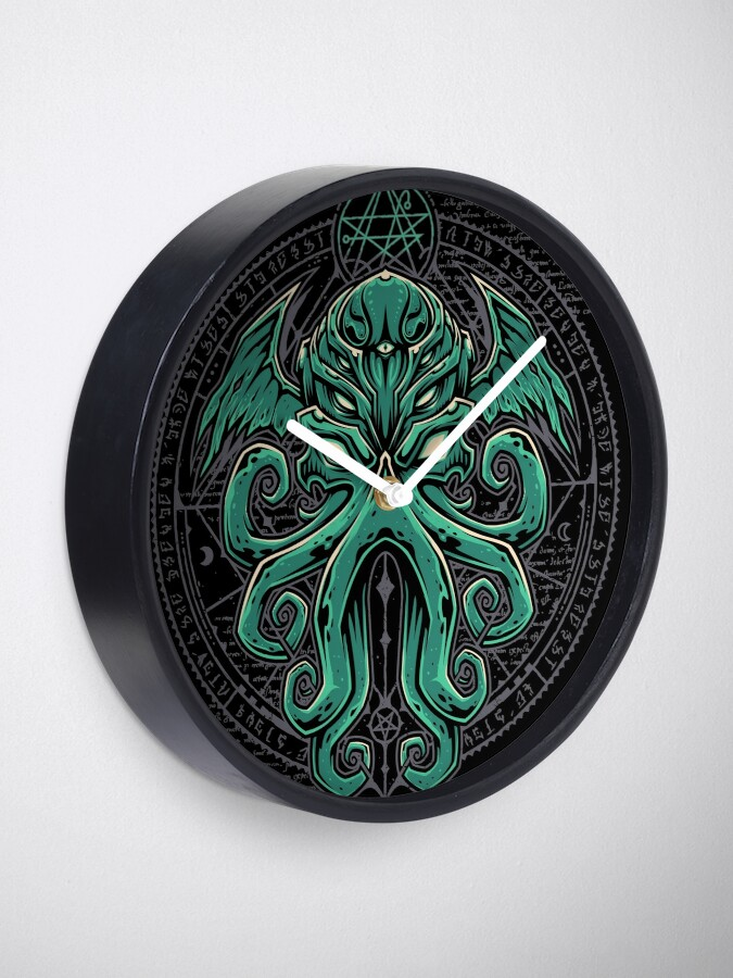 Alternate view of Great Cthulhu Clock