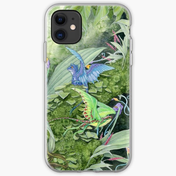 Dwarf dragons iPhone Soft Case