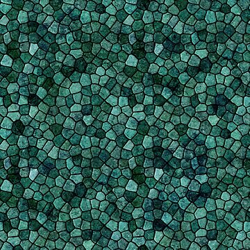 Oceanic Mosaic Crust Texture Abstract Pattern by taiche