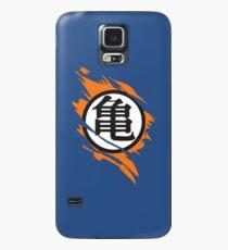 Funda/vinilo para Samsung Galaxy Goku Kame Symbol Ripped Design