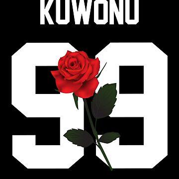 Zion Kuwonu - Rose by amandamedeiros