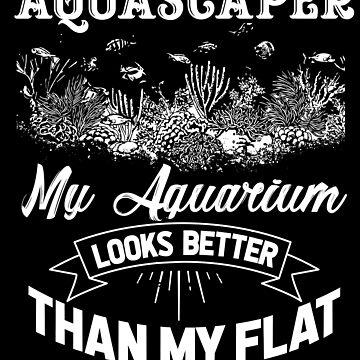 Aquarium hobby by GeschenkIdee