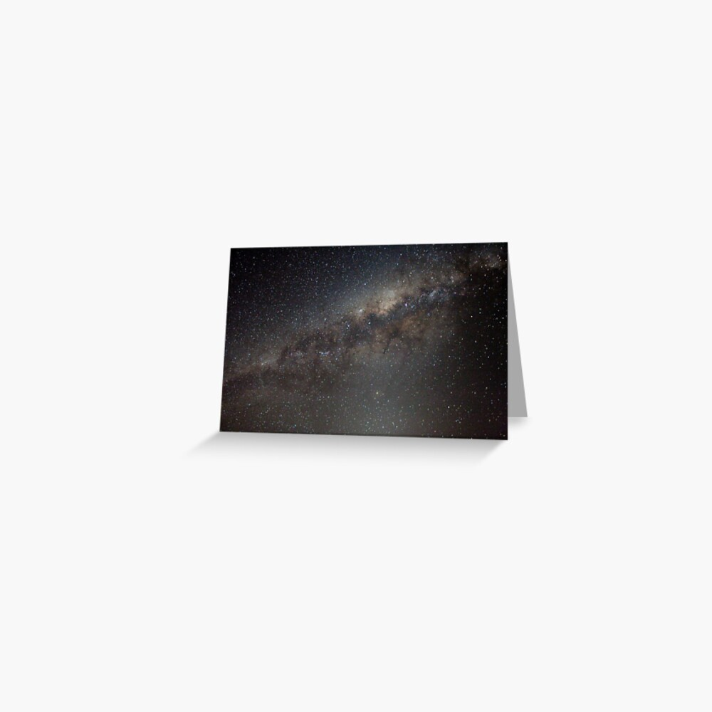 Our Milky Way Galaxy Greeting Card