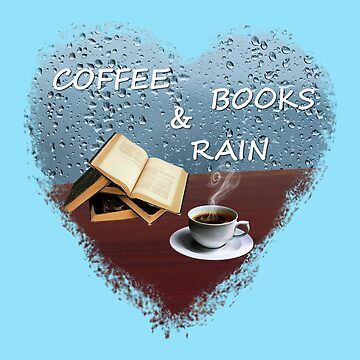 Coffee, books and rain by florintenica