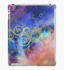 Time Lord Writing (13th Doctor Jodie Whittaker ) iPad Case/Skin