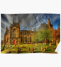 Dunfermline Abbey Scotland -  Historical Site  Poster