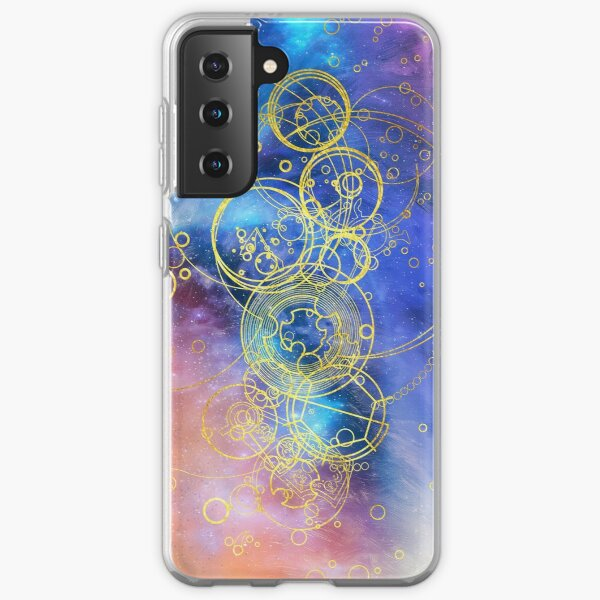 Time Lord Writing (13th Doctor Jodie Whittaker ) Samsung Galaxy Soft Case