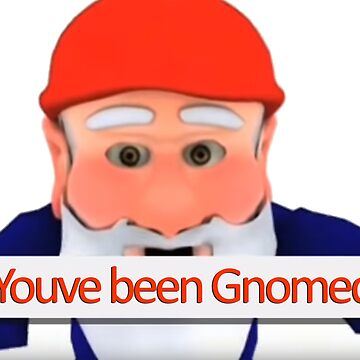 youve been gnomed by markdanshin