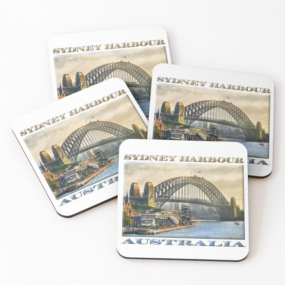 Sydney Harbour Coasters (Set of 4)