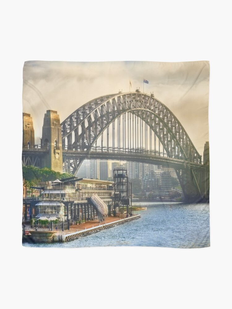 Alternate view of Sydney Harbour Scarf